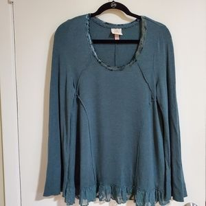 Knox Rose Sweater, Blouse, Green, Med